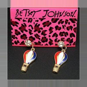 Betsey Johnson Fashion Hot Air Balloon Earrings